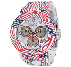 Invicta Grand Pro Diver Men's 52mm USA Flag Hydroplated Chronograph Watch 32631-Klawk Watches