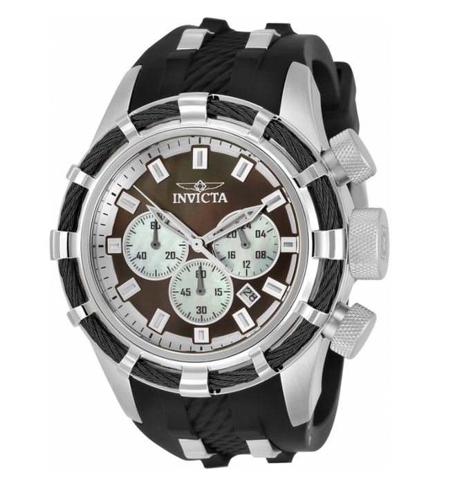 Invicta Bolt Sport Men's 50mm Brown Mother of Pearl Dial Chronograph Watch 32960-Klawk Watches