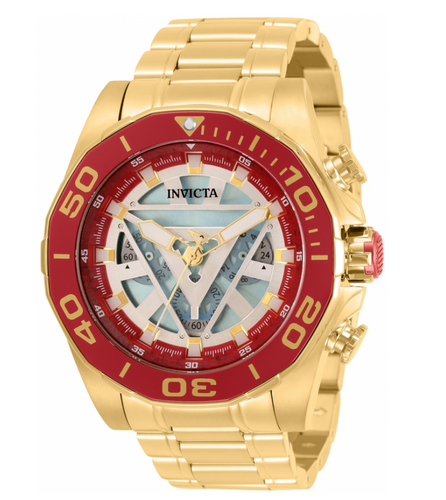 Invicta Marvel Ironman Men's 48mm Limited Edition Chronograph Watch 33313-Klawk Watches