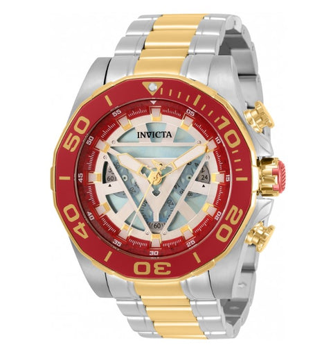 Invicta Marvel Ironman Men's 48mm Limited Edition Chronograph Watch 33368-Klawk Watches