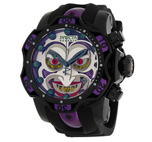 Load image into Gallery viewer, Invicta DC Comics JOKER LIMITED Edition Men's 52mm Chronograph Watch 33813 Rare-Klawk Watches