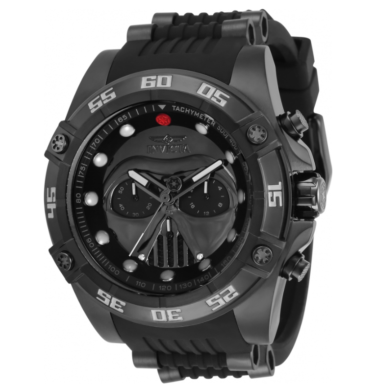 Invicta Star Wars Darth Vader Men's 52mm Limited Edition Chronograph Watch 34040-Klawk Watches
