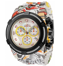 Load image into Gallery viewer, Invicta Bolt Hydroplated Men's 54mm Graffiti Swiss Chrono Watch 34714 Rare-Klawk Watches