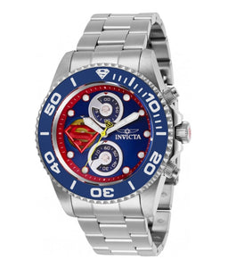 Invicta DC Comics Superman Men's 43mm Limited Edition Chronograph Watch 29062-Klawk Watches