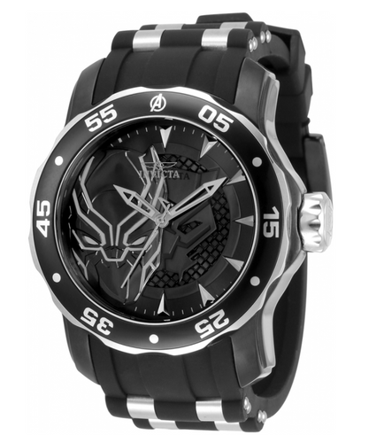 Invicta Marvel Black Panther Men's 48mm Limited Edition Quartz Watch 34740-Klawk Watches