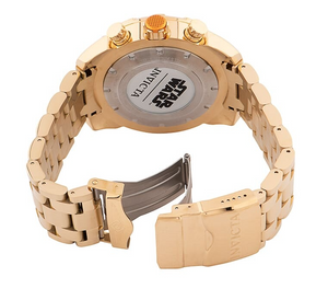 Invicta Star Wars C-3PO Men's 50mm Limited Edition Gold Chronograph Watch 35068-Klawk Watches