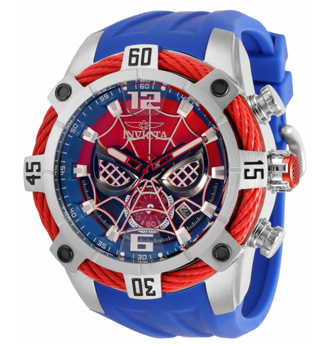 Invicta Marvel Spiderman Men's 51mm Limited Edition Chronograph Watch 35095-Klawk Watches