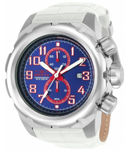 Load image into Gallery viewer, Invicta Pro Diver 24079 Men's White Leather Chronograph Watch 52mm RARE-Klawk Watches