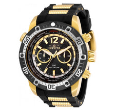 Load image into Gallery viewer, Invicta Aviator GMT World Time 29919 Men's 50.5mm Gold-Tone Dual Time Watch-Klawk Watches