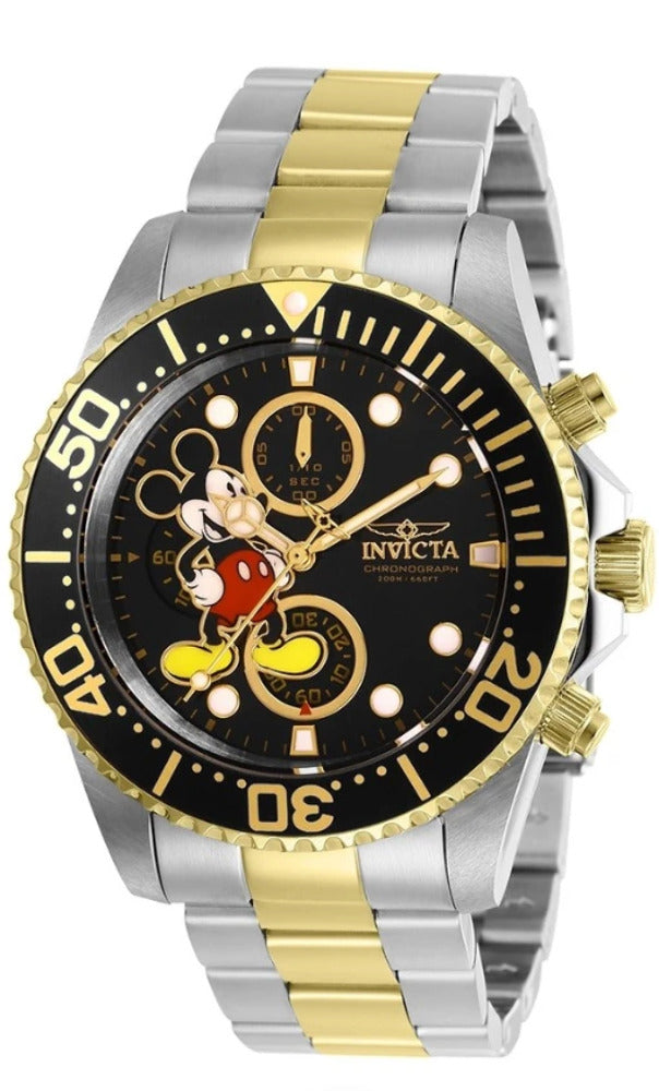 Invicta Disney Limited Edition 27389 Mens Two-Tone Mickey Chronograph Watch 43mm-Klawk Watches