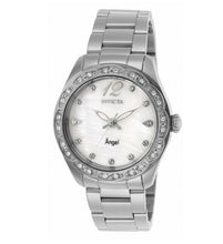 Load image into Gallery viewer, Invicta Angel 27449 Women's 35mm Crystal Accent Stainless Steel Quartz Watch-Klawk Watches