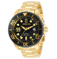Invicta Pro Diver JT Limited Edition Automatic 30211 Men's Gold 47mm Watch-Klawk Watches