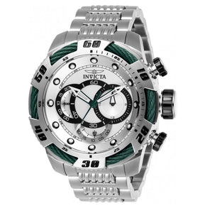 Invicta Speedway Viper Men's 50mm Green Accent Stainless Chronograph Watch 27059-Klawk Watches