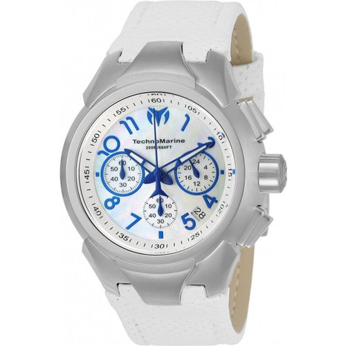 TechnoMarine Sea Dream Women's 42mm White Mother of Pearl Dial Watch TM-715030-Klawk Watches