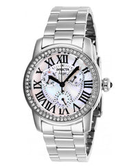 Invicta Angel 28470 Women's 38mm Crystal Accent Stainless Multi-Function Watch-Klawk Watches
