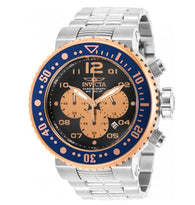 Invicta Grand Pro Diver 29817 Men's Rose Gold / Gray Dial 52mm Chronograph Watch-Klawk Watches