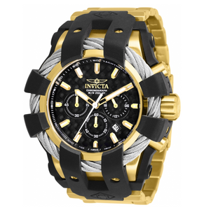 Invicta Bolt Sport 26673 Men's 50mm Carbon Fiber Dial Hybrid Stainless Watch-Klawk Watches