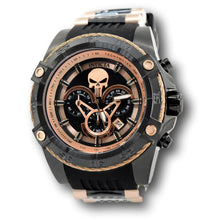 Load image into Gallery viewer, Invicta Marvel Punisher Limited Edition 52mm Rose Gold Chronograph Watch 26861-Klawk Watches