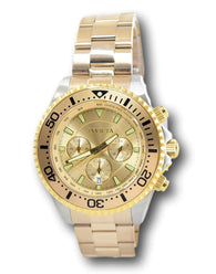 Invicta Angel Women's Silver Dial Gold Stainless Steel Watch 23725 38mm-Klawk Watches