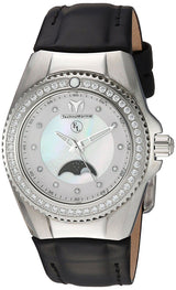 TechnoMarine Mother of Pearl Moon Phase Women's Eva Longoria Watch TM-416019-Klawk Watches
