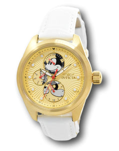 Invicta Disney Limited Edition Women's 38mm Gold Mickey Watch Band Set 34094-Klawk Watches