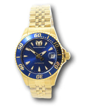 Load image into Gallery viewer, TechnoMarine Sea Manta Automatic Women's 38mm Gold Blue Dial Watch TM-219064-Klawk Watches