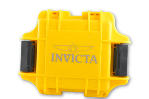 Invicta One Slot Yellow Dive Case IPM10 Invicta Collector's Hard Watch Case-Klawk Watches