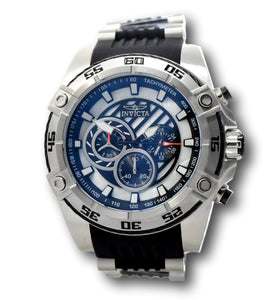 Invicta Speedway Viper Men's 52mm Mother of Pearl Chronograph Watch 30409 Rare-Klawk Watches