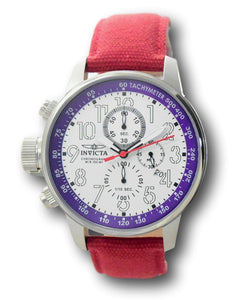 Invicta I-Force Men's 46mm White Dial Lefty Chronograph Watch 11522 CUSTOM-Klawk Watches