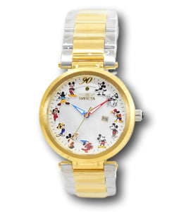 Invicta Women's 36mm Disney 90th Anniversary Limited Edition Gold Watch 30835-Klawk Watches