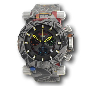 Invicta Coalition Forces Graffiti HydroPlated 51mm Swiss Chronograph Watch 26449-Klawk Watches
