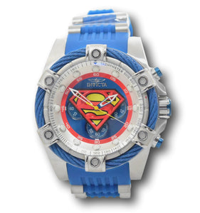 Invicta DC Comics Superman Men's 52mm Limited Chronograph Watch 33188-Klawk Watches