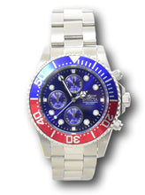 Load image into Gallery viewer, Invicta Pro Diver Men's 43mm Blue Dial Pepsi Bezel Chronograph Watch 1771-Klawk Watches