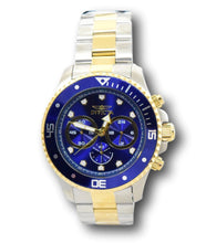 Load image into Gallery viewer, Invicta Pro Diver Men's 45mm Blue Dial Gold Two-Tone Chronograph Watch 30749-Klawk Watches
