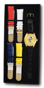 Invicta Disney Limited Edition Men's 46mm Gold Mickey Watch Band Set 34090-Klawk Watches