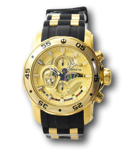 Invicta Star Wars C3P0 Men's 48mm Limited Edition Gold Chronograph Watch 32529-Klawk Watches