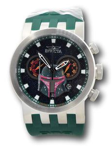 Invicta Star Wars Boba Fett Men's 46mm Limited Ed Swiss Chronograph Watch 34686-Klawk Watches
