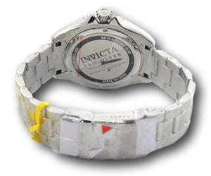Invicta Pro Diver Mens 48mm Black Pearl Dial Stainless Quartz Watch 23068 RARE-Klawk Watches