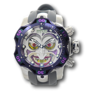 Invicta DC Comics JOKER LIMITED Edition #0005 Men's 52mm Chrono Watch 33812 Rare-Klawk Watches