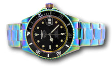 Load image into Gallery viewer, Invicta Pro Diver Automatic Men's 40mm Black Dial Rainbow Iridescent Watch 26600-Klawk Watches