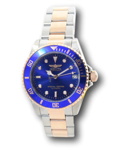 Invicta Pro Diver Automatic Women's 36mm Special Edition Rose Gold Watch 30605-Klawk Watches