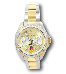 Invicta Disney Limited Edition Women's 38mm Two-Tone Mickey Mouse Watch 32432-Klawk Watches