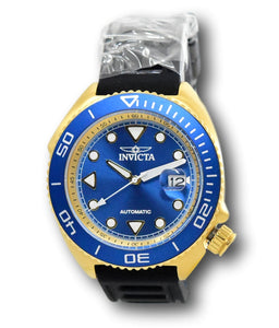 Invicta Pro Diver Sea Wolf Automatic Men's 47mm Blue & Gold Sport Watch 30426-Klawk Watches