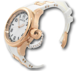Invicta Angel 28448 Women's Gold Pave Crystal Dial 38mm Multi-Function Watch-Klawk Watches