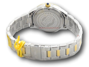 Invicta Angel Women's 37mm Mother of Pearl Dial Crystal Day / Date Watch 31265-Klawk Watches