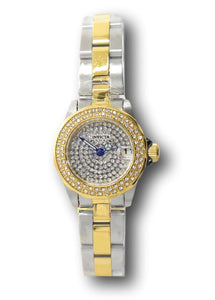 Invicta Angel Mini Women's 24mm Pave Crystal Dial Two-Tone Quartz Watch 28454-Klawk Watches