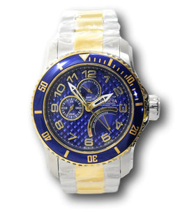 Invicta Pro Diver Mens 49mm Retrograde Date Multi-Function Stainless Watch 17356-Klawk Watches