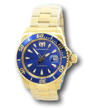 Load image into Gallery viewer, TechnoMarine Sea Manta Automatic Men's 42mm Gold Blue Dial Watch TM-219074-Klawk Watches