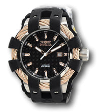 Load image into Gallery viewer, Invicta Bolt Sport Automatic 25035 Men's 50mm Rose Gold Carbon Fiber Dial Watch-Klawk Watches