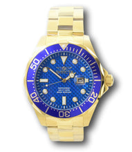 Load image into Gallery viewer, Invicta Pro Diver Men's 47mm Blue Carbon Fiber Dial Gold Stainless Watch 14357-Klawk Watches